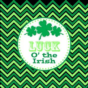 TLOTP-IrishLuck-CupcakeTopper