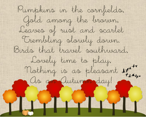essays on ode to autumn