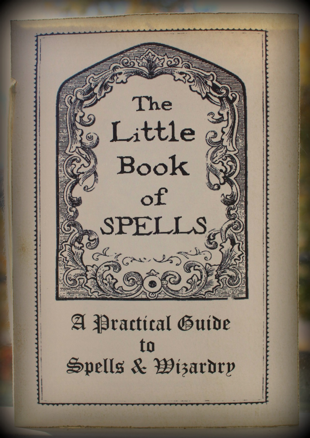 graphic relating to Harry Potter Spell Book Printable named The Minor Reserve of Spells The Lifetime of the Occasion