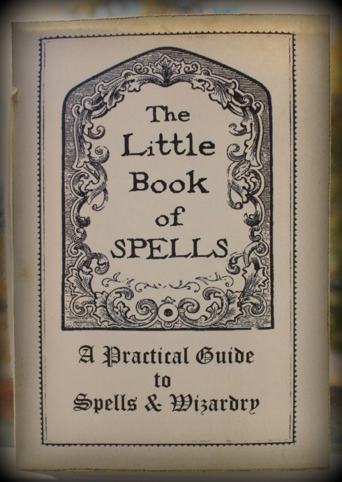 how to make your own spell book