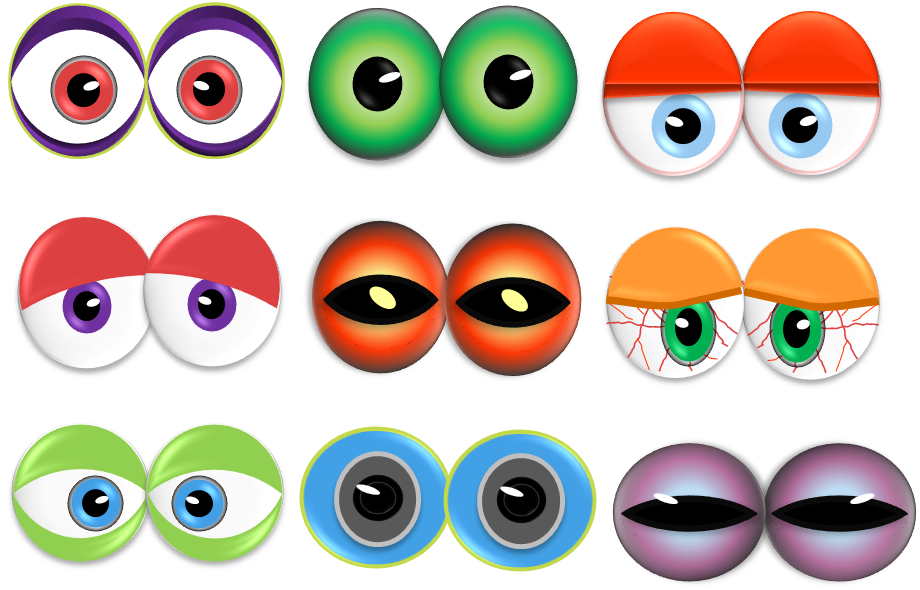 Stupendous image pertaining to printable eyeballs