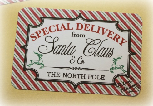 Gutsy image regarding free printable north pole special delivery printable
