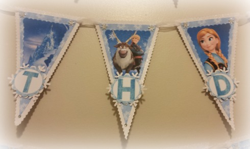 Frozen Birthday Banner 2 - The Life of the Party