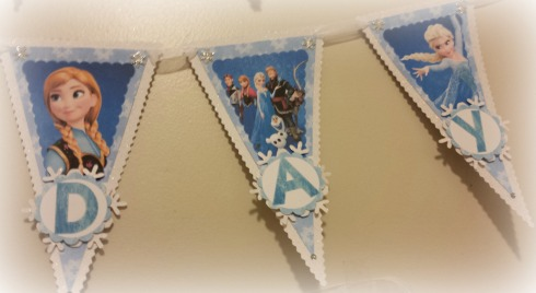 Frozen Birthday Banner 3 - The Life of the Party