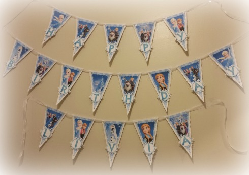 Frozen Birthday Banner - The Life of the Party