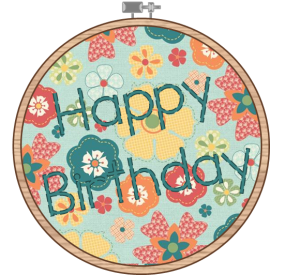 Embroider Hoop_Birthday - The Life of the Party