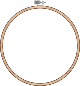 Embroidery Hoop_Color - The Life of the Party