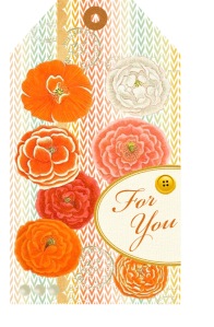 Printable Poppy Tag - The Life of the Party